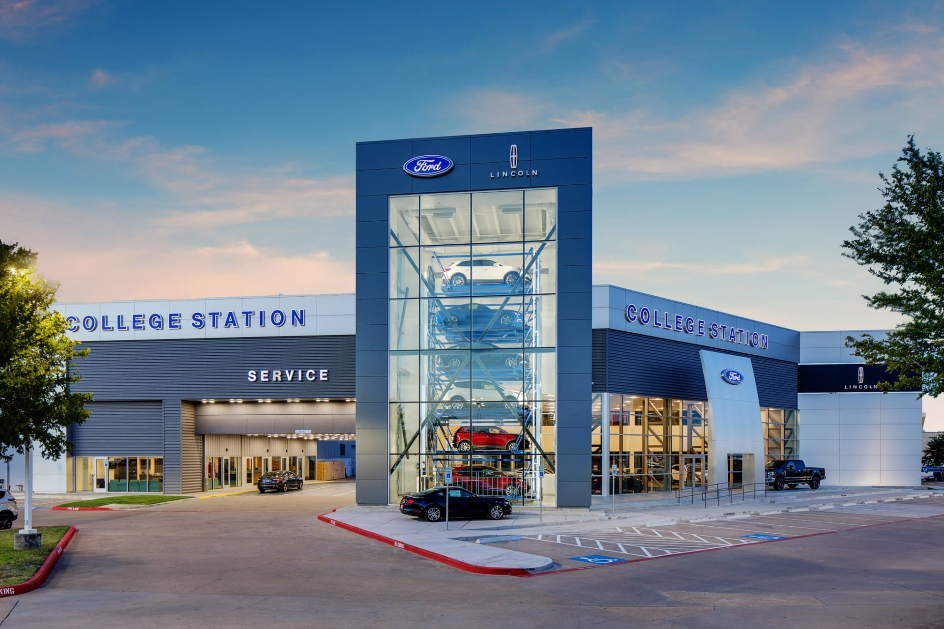 College Station Ford >> Rm Dudley Construction College Station Ford Renovation